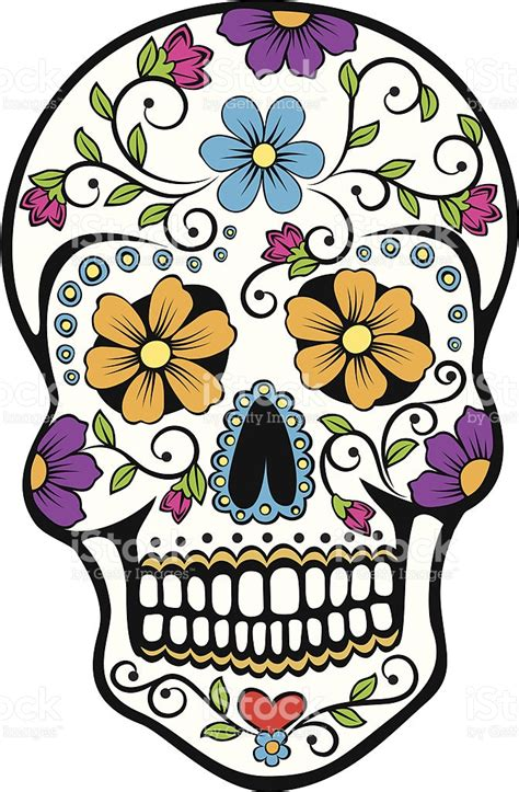 Day Of The Dead Clipart Jaxstorm Realverse Us Day Of The Dead Skull Vector