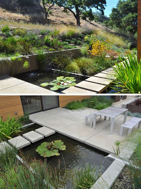 8 landscaping ideas for backyard ponds and water gardens contemporist