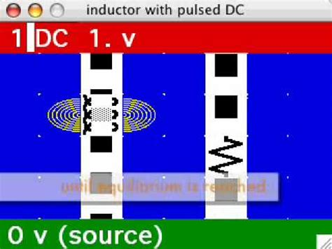 inductor behavior at dc inductor behavior with dc animated