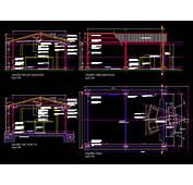CAD DRAWING  DETAILED ENTERTAINMENT GAZEBO / PORCH PERGOLA 2