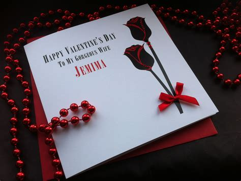 Handmade Valentines Card - s day cards at pinkandposh co ukpink posh