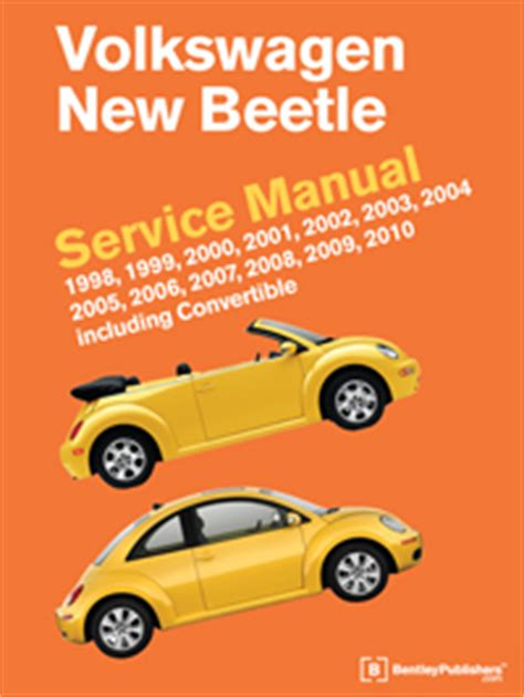 automotive service manuals 2000 volkswagen new beetle electronic valve timing vw volkswagen new beetle service manual 1998 2010 bentley publishers repair manuals and