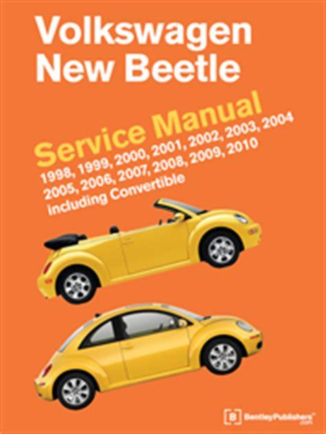 online auto repair manual 2001 volkswagen new beetle spare parts catalogs vw volkswagen new beetle service manual 1998 2010 bentley publishers repair manuals and