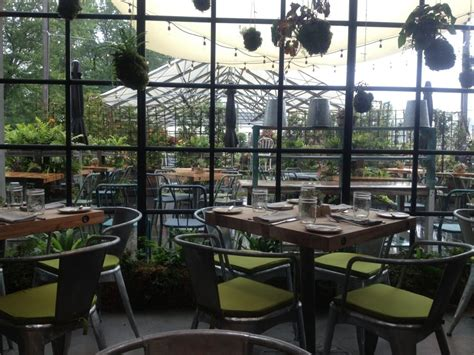 Places To Eat In Garden City Ks by The Terrain Garden Cafe Greenhouse Restaurant Is The Most