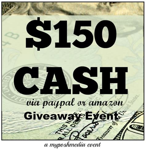 Enter Free Events Monthly Giveaway by Enter To Win 150 Or Paypal Giveaway Ends 5 30
