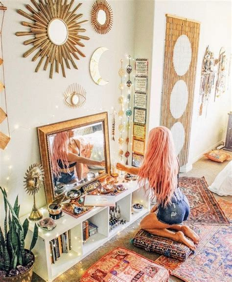 moon decor retro home decor hippy room hippie bedroom