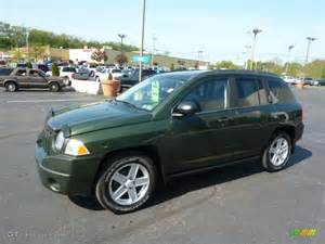 jeep green metallic 2007 jeep compass sport exterior photo