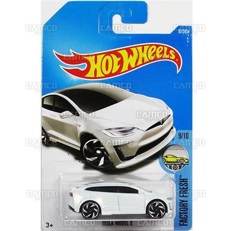 Hotwheels Wheels Tesla Model X tesla model x 97 white 2017 wheels basic e assortment camco toys