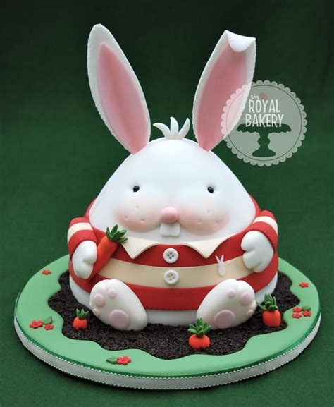 chubby bunny easter cake tutorial by royal bakery the cake directory tutorials and more the