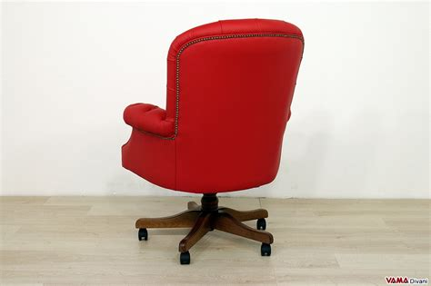 poltrone da ufficio poltrona da ufficio dal design vintage da scrivania classica