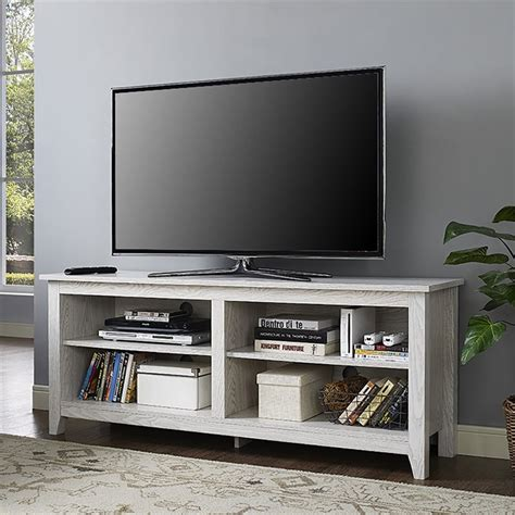 sofas that can be assembled walker edison 58 quot tv stand in white wash w58cspww