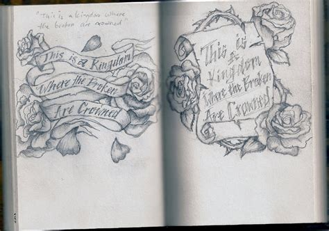 tattoo scrolls designs scroll quotes in quotesgram