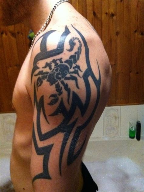scorpio tribal tattoo april 2013 best designs