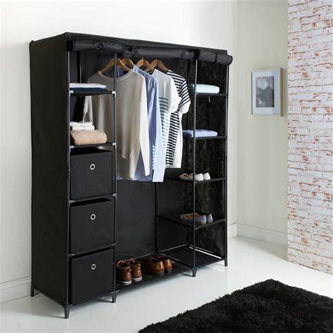 deluxe large canvas wardrobe bedroom furniture furniture
