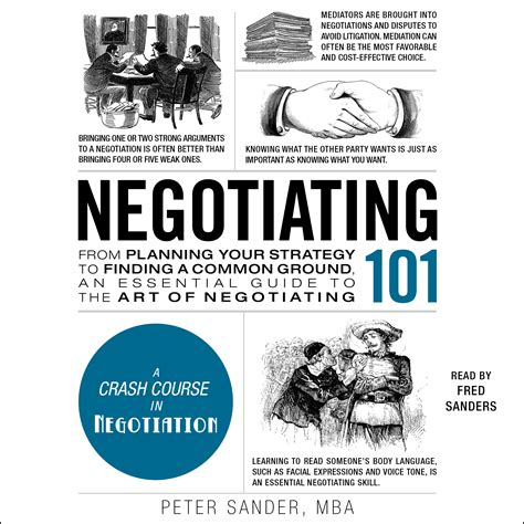 The Personal Mba Audiobook Free by Negotiating 101 Audiobook By Sander Fred Sanders