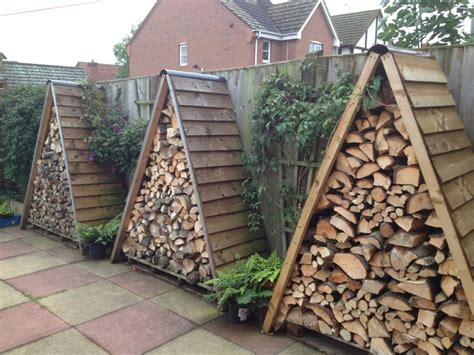How To Make A Firewood Rack by 14 Easy Diy Outdoor Firewood Racks To Keep Those Logs