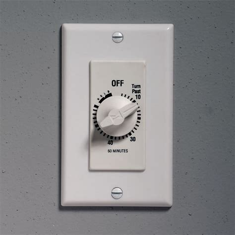bathroom vent timer fan controls timed wall control with continuous on
