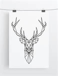 Hipster Nursery The 25 Best Ideas About Geometric Deer On Pinterest