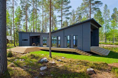 Floor Plans Bungalow Style by Les Maisons En Bois Contemporaines De Style Scandinave Honka