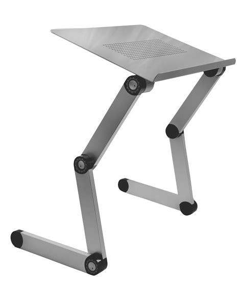 Table Stand 1 Silver Aluminum Folding Macbook Laptop Notebook