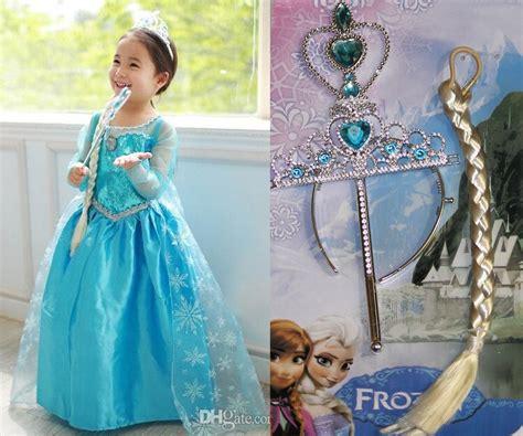 Rambut Palsu Frozen jual accessories set frozen elsa crown tongkat rambut