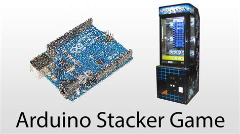 Uno Stackers 1 arduino unrigged stacker with dot matrix