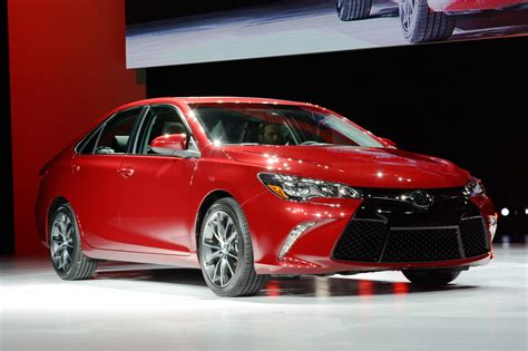 2015 Camry Toyota 2015 Toyota Camry Unveiled At The New York Auto Show