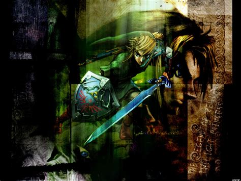 Link Triforce The Legend Of Princess Iphone All Hp the legend of twilight princess wallpaper and