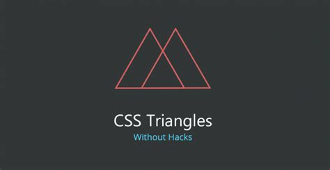triangle pattern css finally css triangles without ugly hacks web design