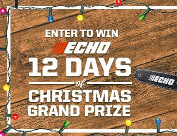 12 Days Of Christmas Sweepstakes - echo 12 days of christmas sweepstakes hunt4freebies