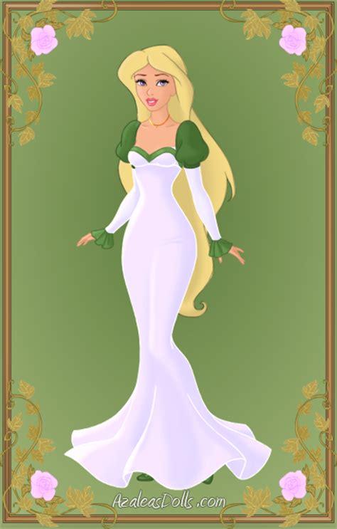Drizella Green Dress odette green dress 1 by kawaiibrit on deviantart