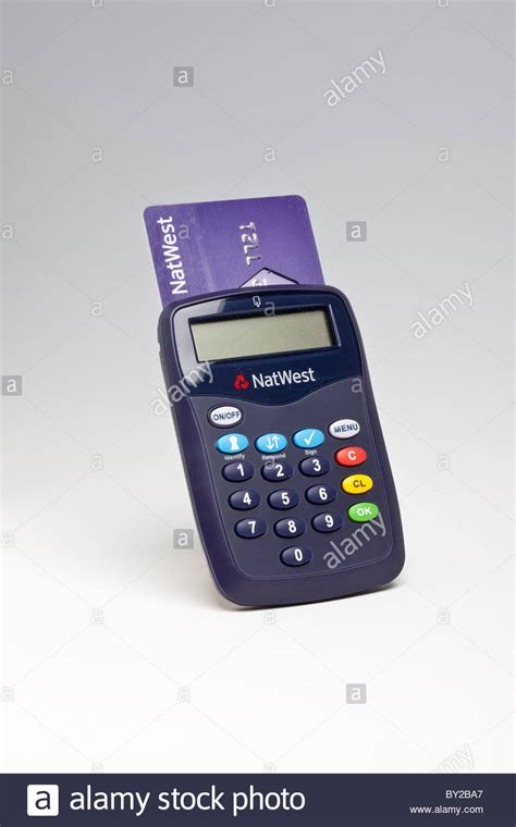 reset natwest online banking natwest bank personal card reader stock photo royalty