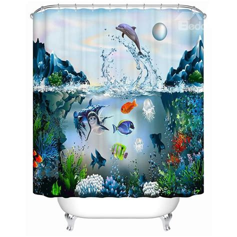 submarine shower curtain vivid submarine world design 3d print shower curtain