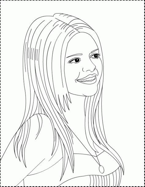 Selena Gomez Coloring Pages Coloringpagesabc Com Selena Gomez Coloring Pages