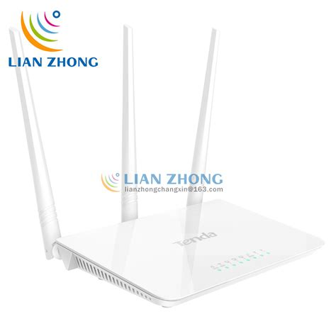 Router Tenda 2 Anten tenda f3 3 antenna wireless router 200 square meters signal of coverage not dropped wifi