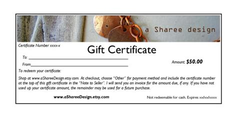 how to create a certificate template etsy gift certificate guide 3 methods handmadeology