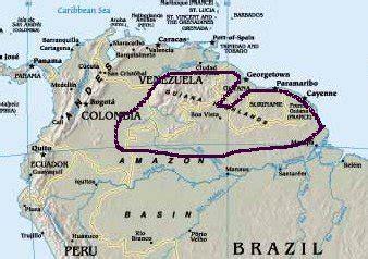 south america guiana highlands map welcome to guyana