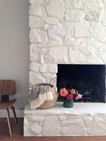 how to painting the fireplace white greige design