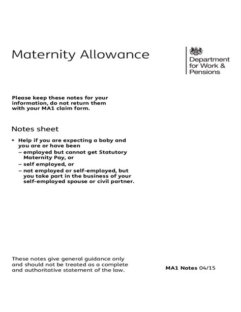Carers Allowance Section by Related Keywords Suggestions For Maternity Allowance Application