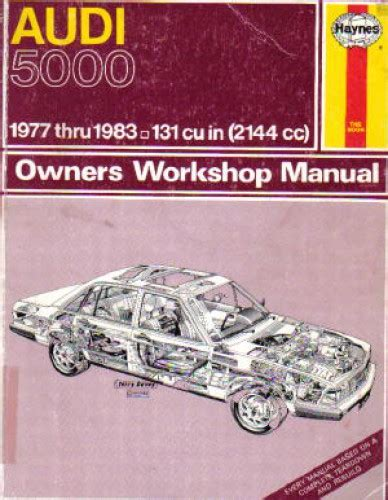 haynes audi 5000 service repair manual 1984 1988 for sale carmanuals com haynes audi 5000 repair manual 1977 used