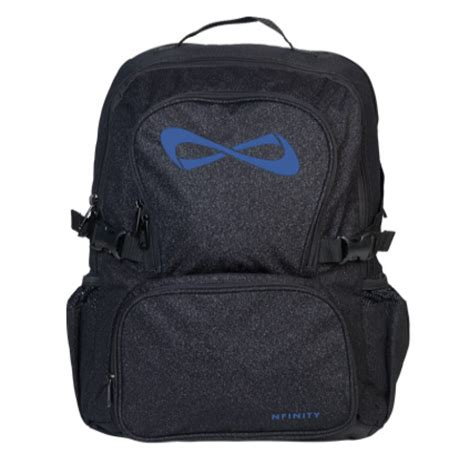 Backpack Limited nfinity black sparkle backpack limited edition cheer world