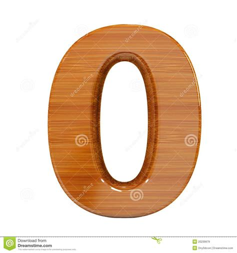 nmero cero number 8426402046 3d number zero made by bamboo wood stock illustration illustration of wood symbol 20239979