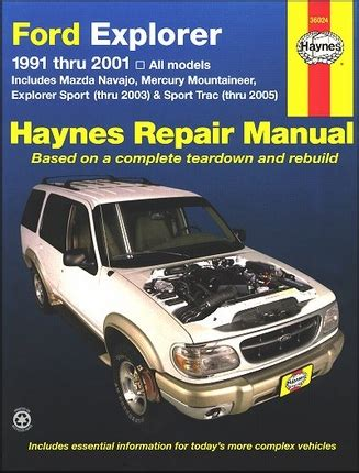 best car repair manuals 2003 mercury mountaineer windshield wipe control explorer sport trac navajo mountaineer repair manual 1991 2005