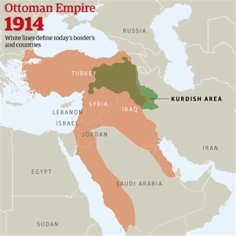 ottoman empire borders first world war 15 legacies still with us today part 2