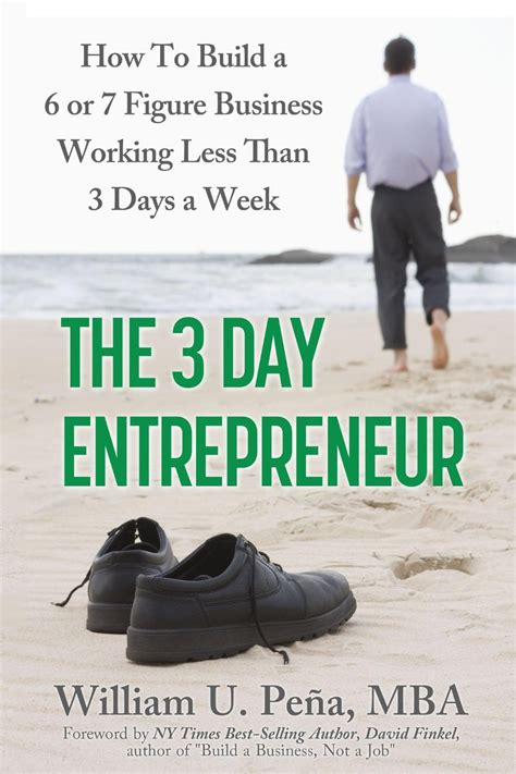 The Three Day Novel by Book Of The Week The 3 Day Entrepreneur How To Build A