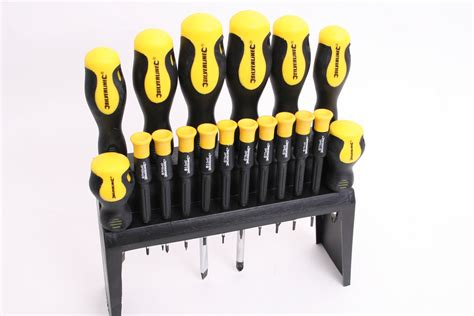 Kode Set Bunga Rambat Silver silverline soft grip screwdriver set 633940 screwdriver sets tested auto express
