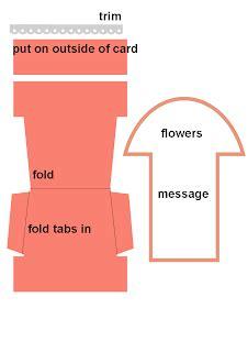 Flower Pot Pocket Card Template by Paper Compulsions Flower Pot Pocket Card