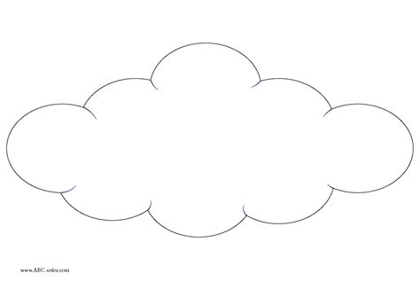 Free Coloring Pages Of Clouds And Sky Coloring Pages Clouds