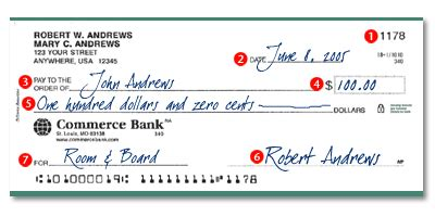 exle of written check how to write a strong personal writing a check to