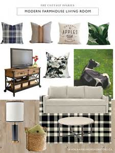 Modern Farmhouse Living Room by Rambling Renovators The Cottage Diaries Modern Farmhouse